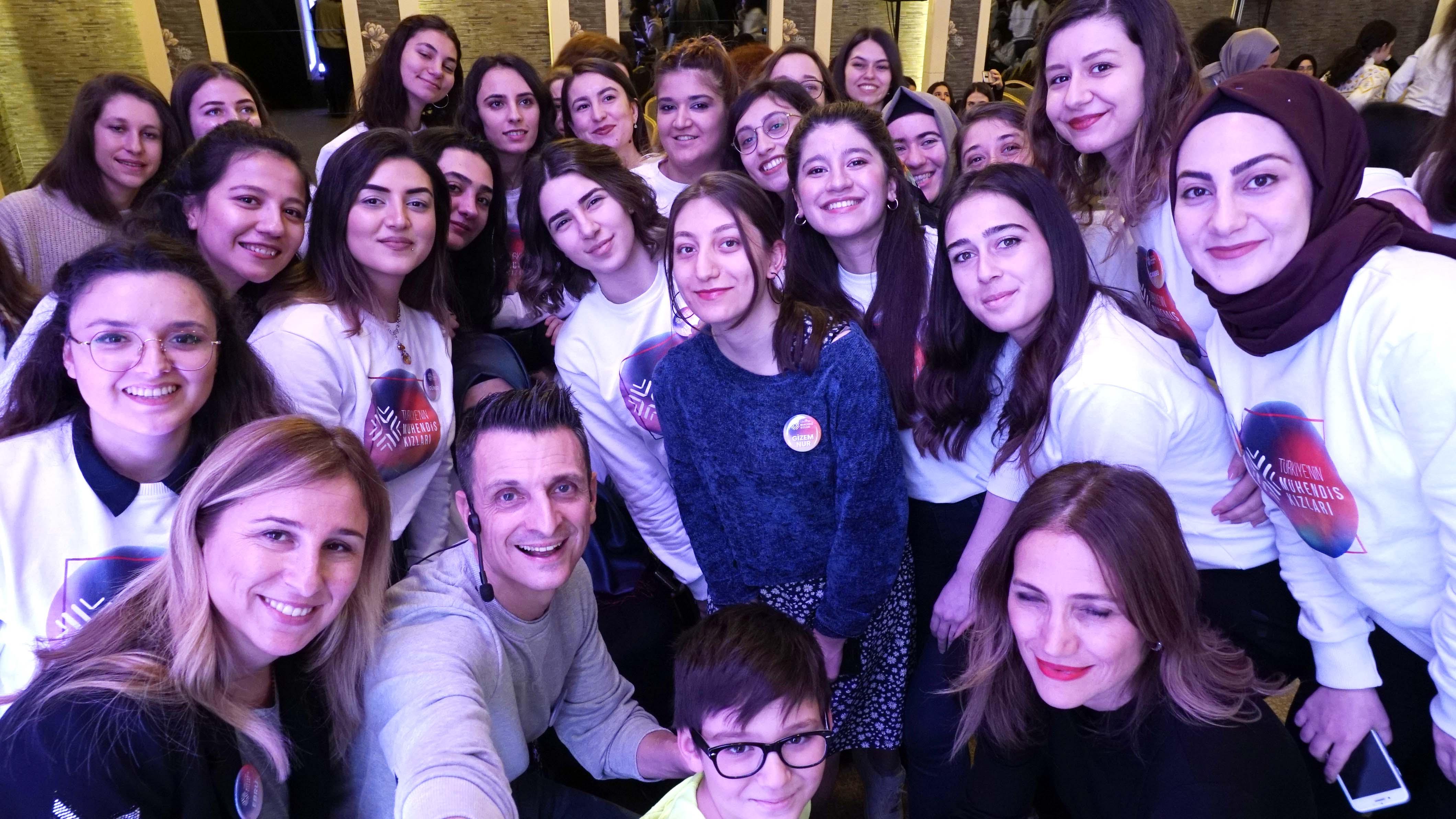 Türkiye'nin Mühendis Kızları İstanbul'da buluştu