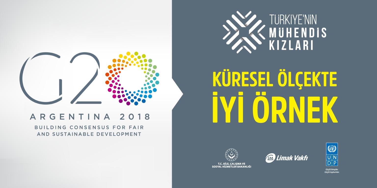 Türkiye'nin Mühendis Kızları Projesi, G20 Kapsayıcı İşletmeler Güncel Faaliyet Kataloğu'nda