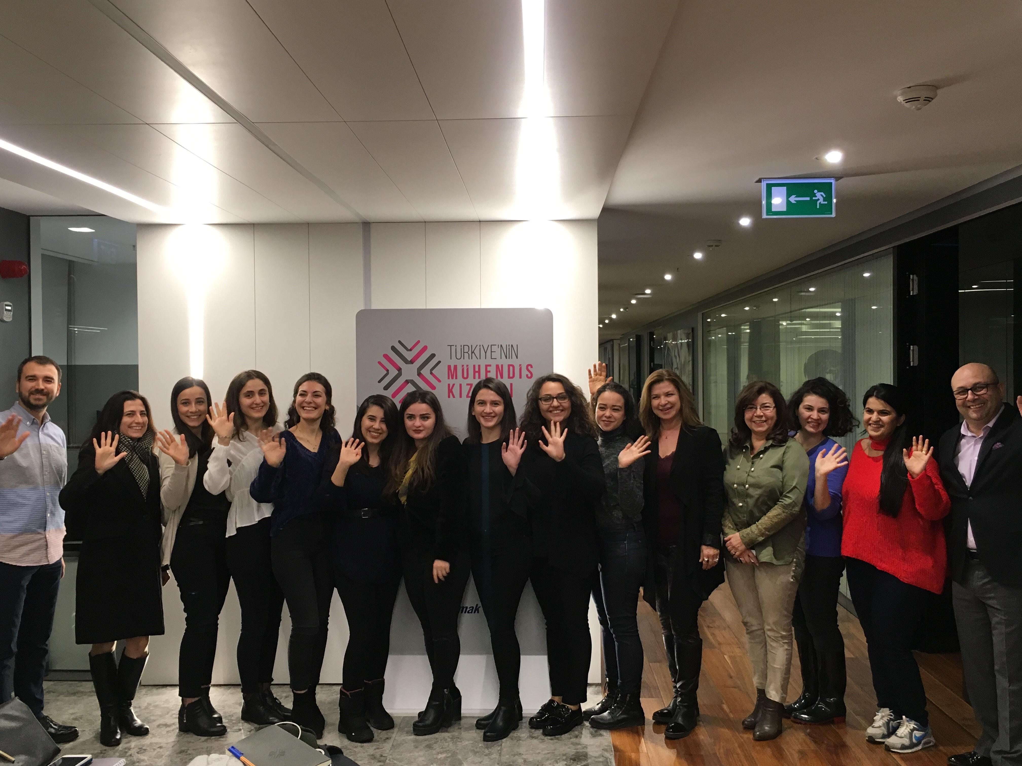 Türkiye'nin Mühendis Kızları  Mentor Eğitimi